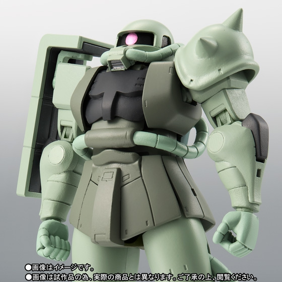ROBOT魂 <SIDE MS> MS-06 量産型ザク ver. A.N.I.M.E. ~ファーストタッチ2500~ 01