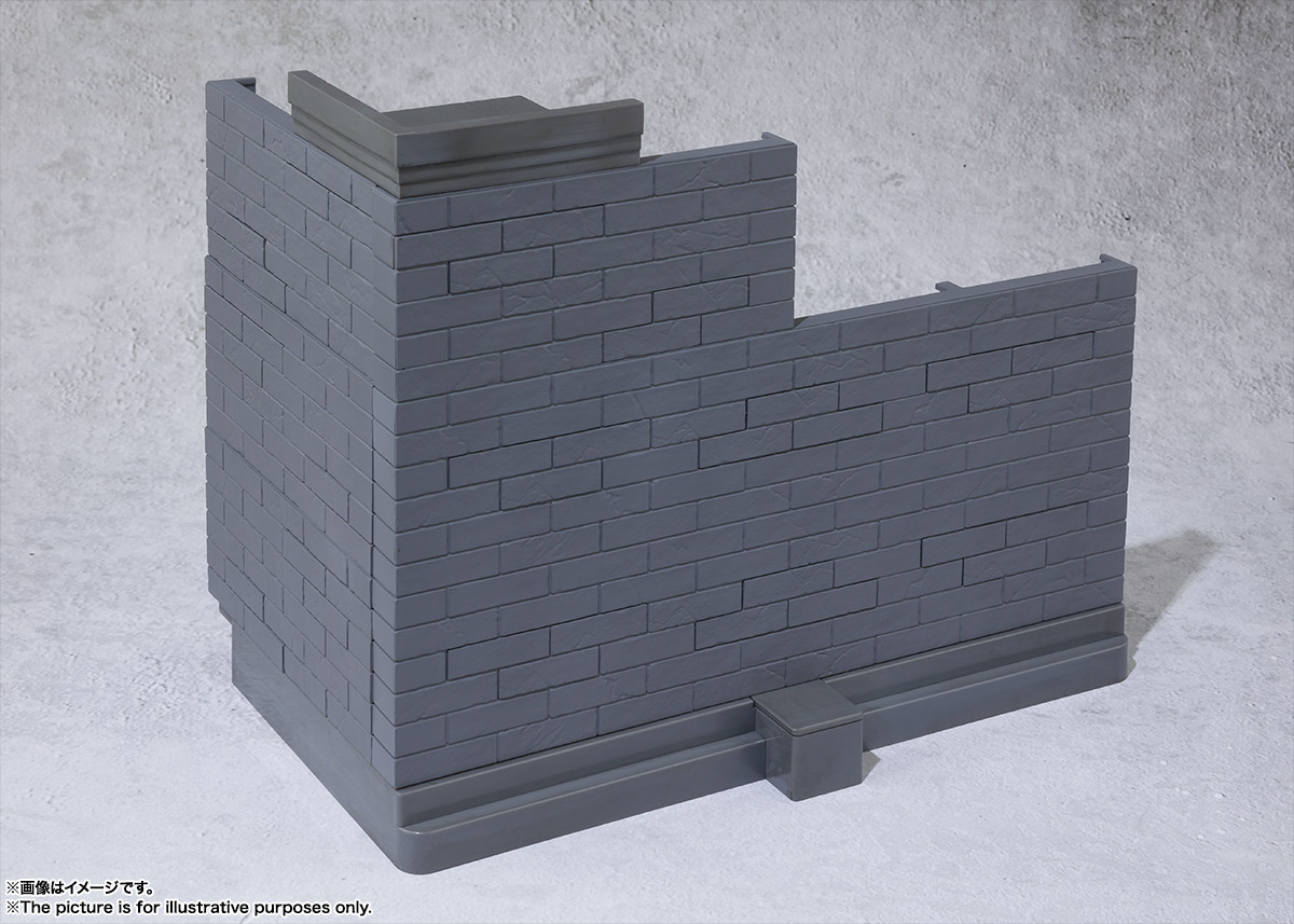 魂OPTION Brick Wall(Gray ver.) 01