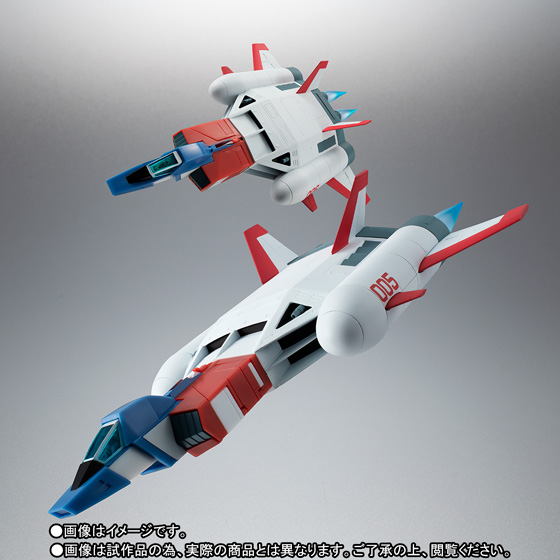 ROBOT魂 <SIDE MS> FF-X7-Bst コア・ブースター 2機セット ver. A.N.I.M.E. ~スレッガー005 & セイラ006~ 01