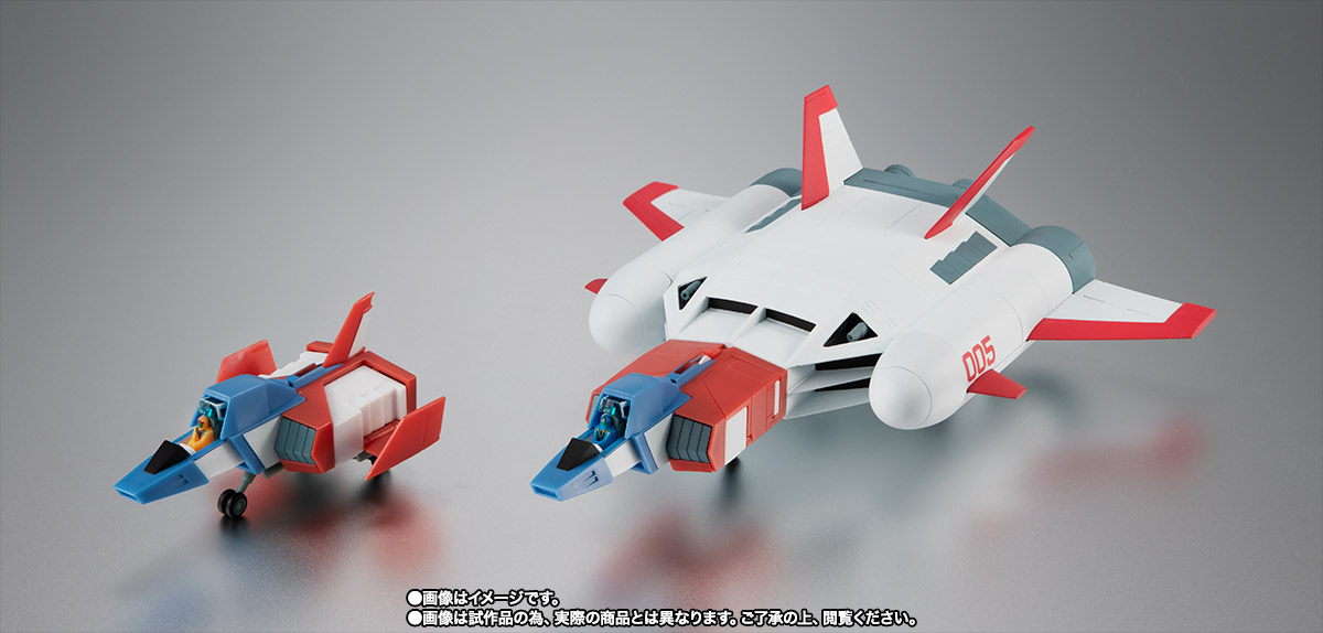 ROBOT魂 <SIDE MS> FF-X7-Bst コア・ブースター 2機セット ver. A.N.I.M.E. ~スレッガー005 & セイラ006~ 05