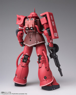 GUNDAM FIX FIGURATION METAL COMPOSITE MS-06S シャア専用ザクII 02