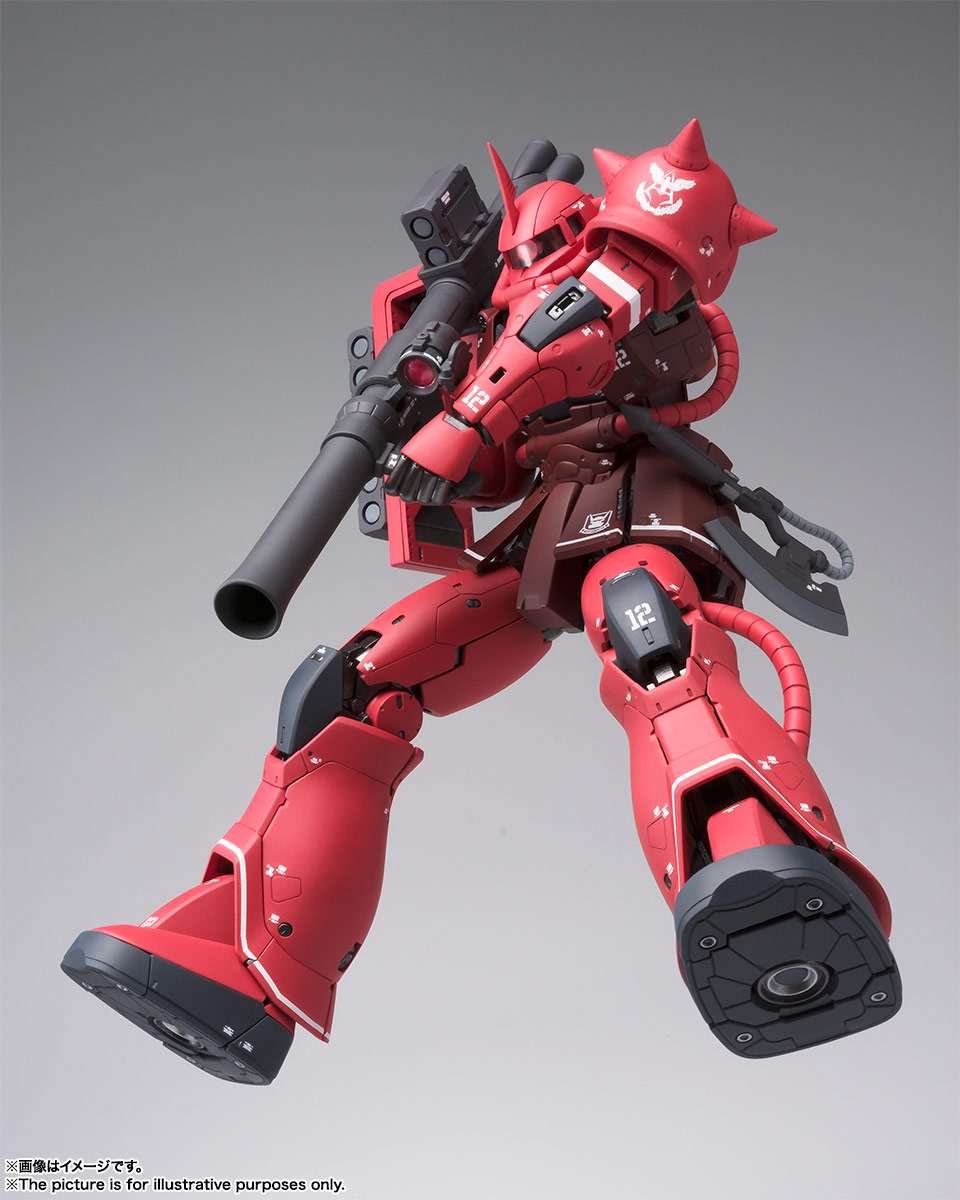 GUNDAM FIX FIGURATION METAL COMPOSITE MS-06S シャア専用ザクII  | 魂ウェブ