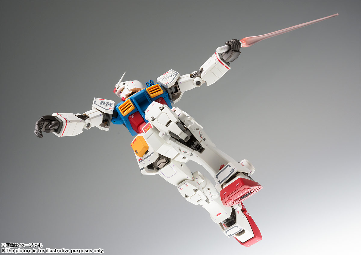 GUNDAM FIX FIGURATION METAL COMPOSITE RX-78-02 ガンダム(40周年記念Ver.) | 魂ウェブ