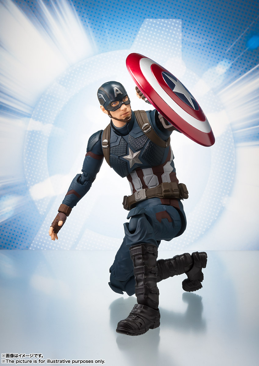 S.H.Figuarts キャプテン・アメリカ(アベンジャーズ/エンドゲーム) 04