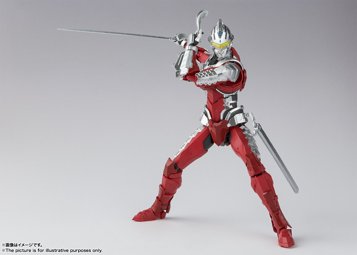 S.H.Figuarts ULTRAMAN SUIT ver7 -the Animation- | 魂ウェブ