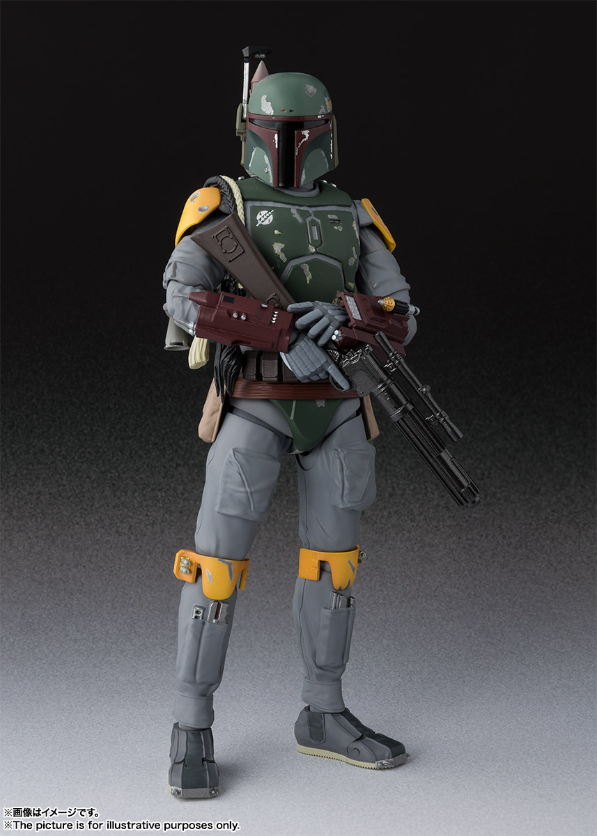 S.H.Figuarts ボバ・フェット(STAR WARS:Episode VI - Return of the Jedi) | 魂ウェブ