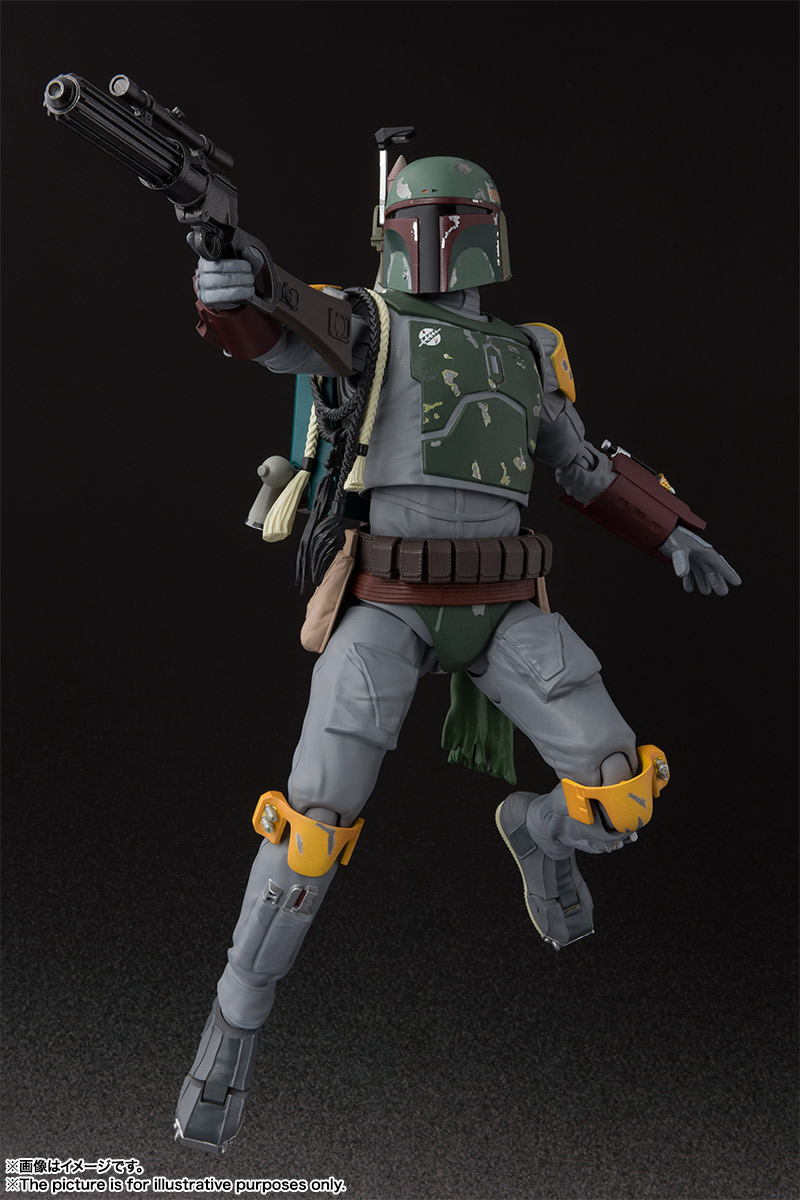 S.H.Figuarts ボバ・フェット(STAR WARS:Episode VI - Return of the Jedi) 06