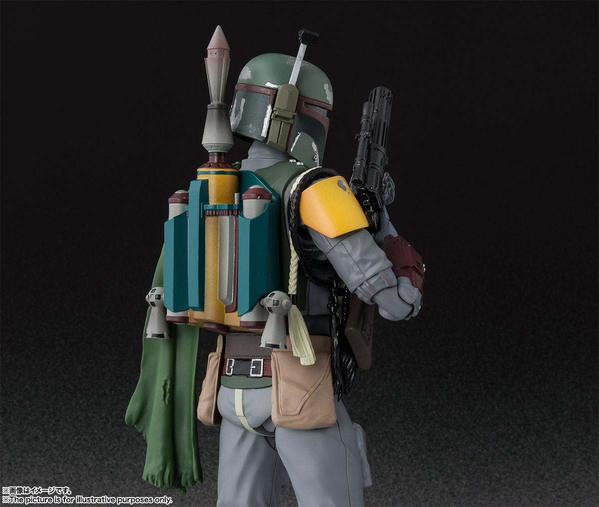 S.H.Figuarts ボバ・フェット(STAR WARS:Episode VI - Return of the Jedi) 07