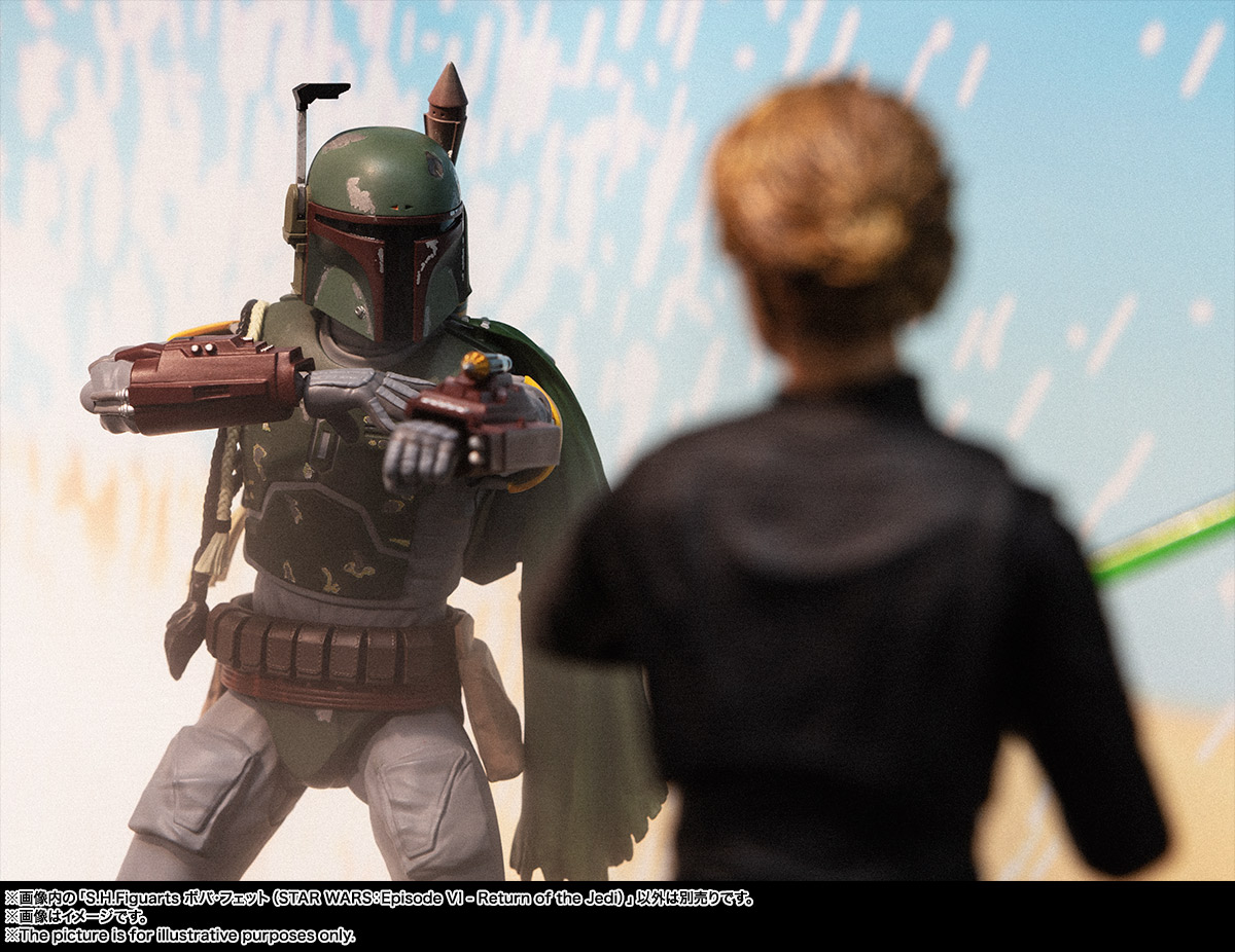 S.H.Figuarts ボバ・フェット(STAR WARS:Episode VI - Return of the Jedi) 09