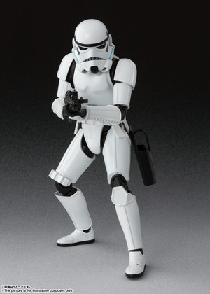 S.H.Figuarts ストームトルーパー(STAR WARS: A New Hope) 01