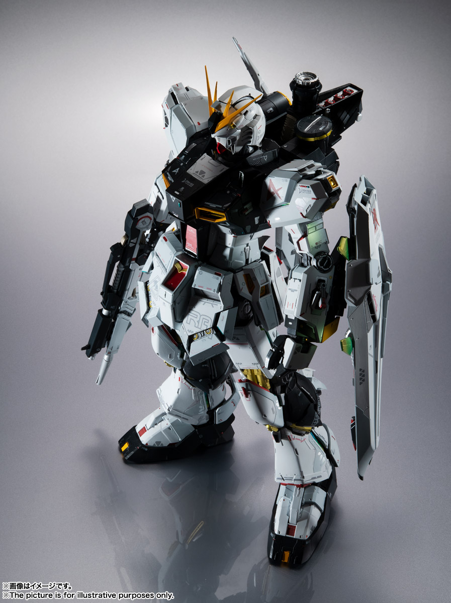 METAL STRUCTURE 解体匠機 RX-93 νガンダム 02