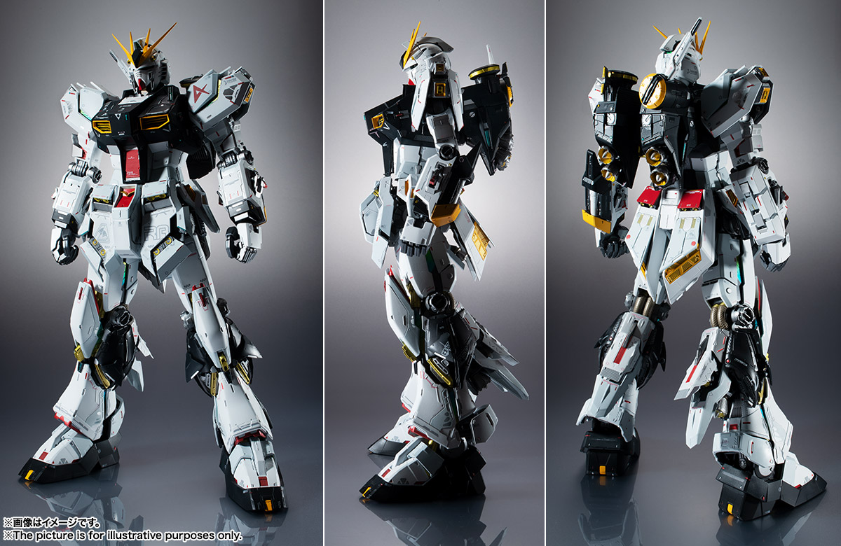 METAL STRUCTURE 解体匠機 RX-93 νガンダム 09