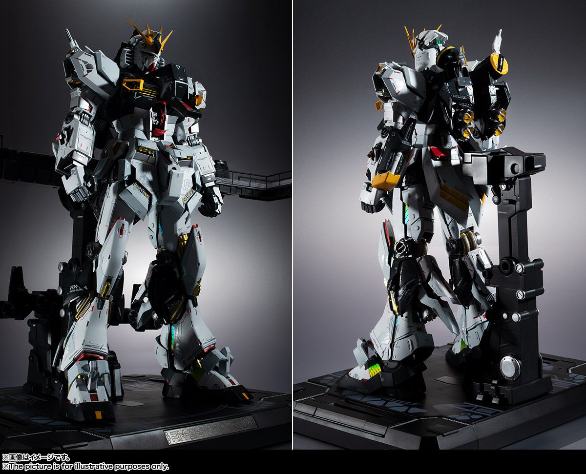 METAL STRUCTURE 解体匠機 RX-93 νガンダム 10