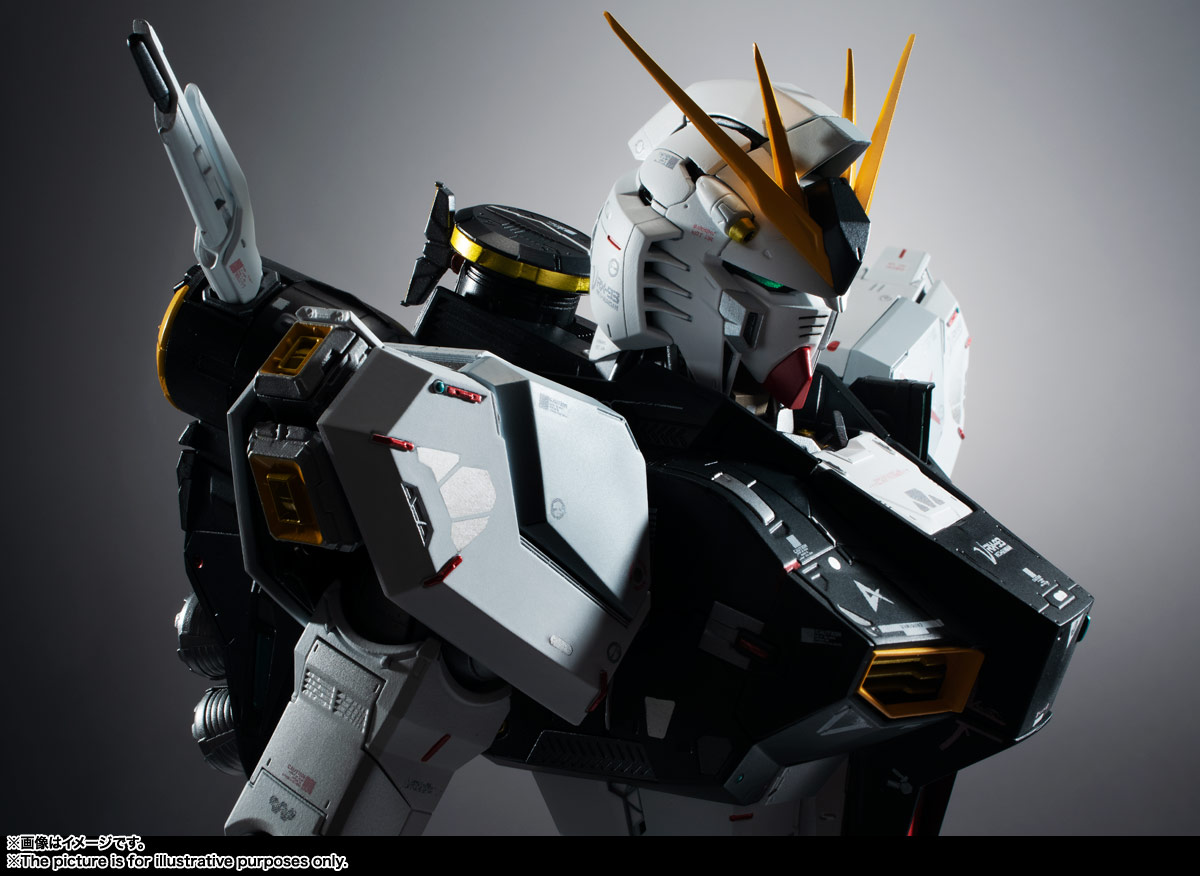 METAL STRUCTURE 解体匠機 RX-93 νガンダム 16