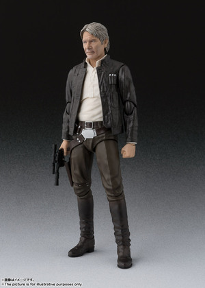 S.H.Figuarts ハン・ソロ(STAR WARS: The Force Awakens) 02