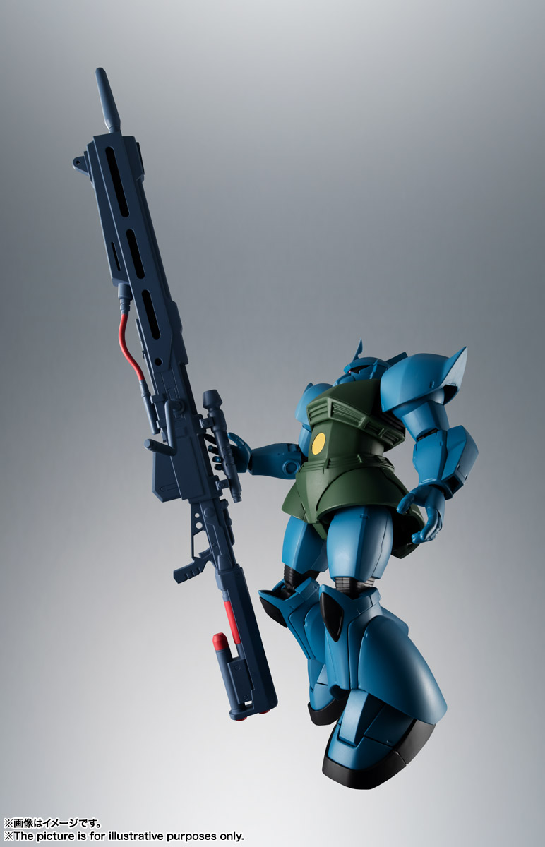 ROBOT魂 <SIDE MS> MS-14A ガトー専用ゲルググ ver. A.N.I.M.E. 02