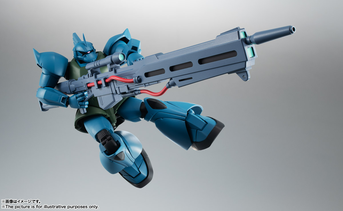 ROBOT魂 <SIDE MS> MS-14A ガトー専用ゲルググ ver. A.N.I.M.E. 03