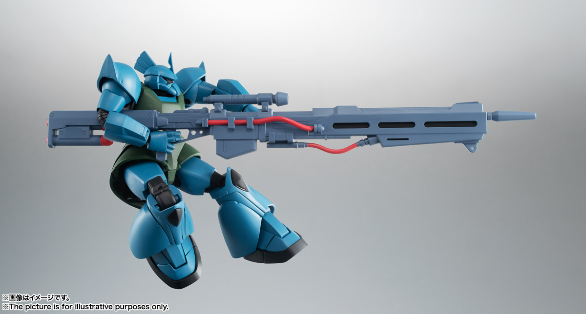 ROBOT魂 <SIDE MS> MS-14A ガトー専用ゲルググ ver. A.N.I.M.E. 04