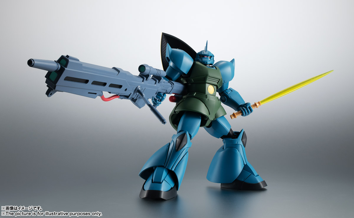 ROBOT魂 <SIDE MS> MS-14A ガトー専用ゲルググ ver. A.N.I.M.E. 05