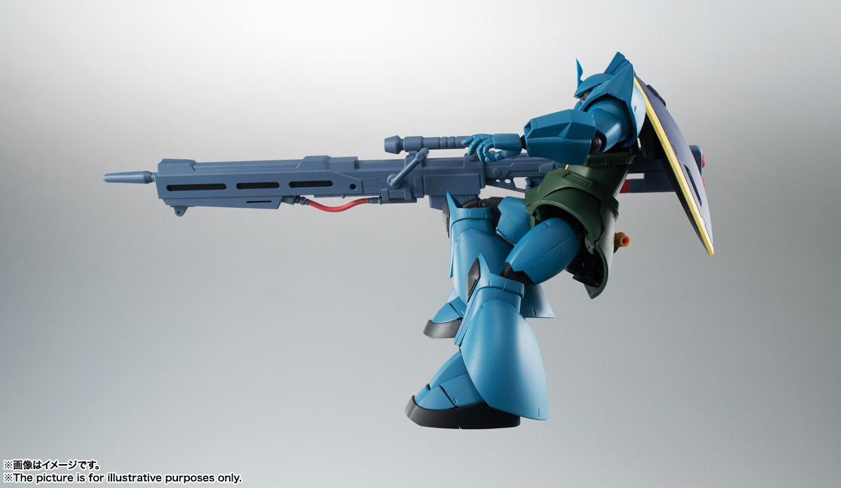 ROBOT魂 <SIDE MS> MS-14A ガトー専用ゲルググ ver. A.N.I.M.E. 08