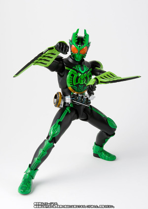 S.H.Figuarts(真骨彫製法) 仮面ライダーオーズ ガタキリバ コンボ 02