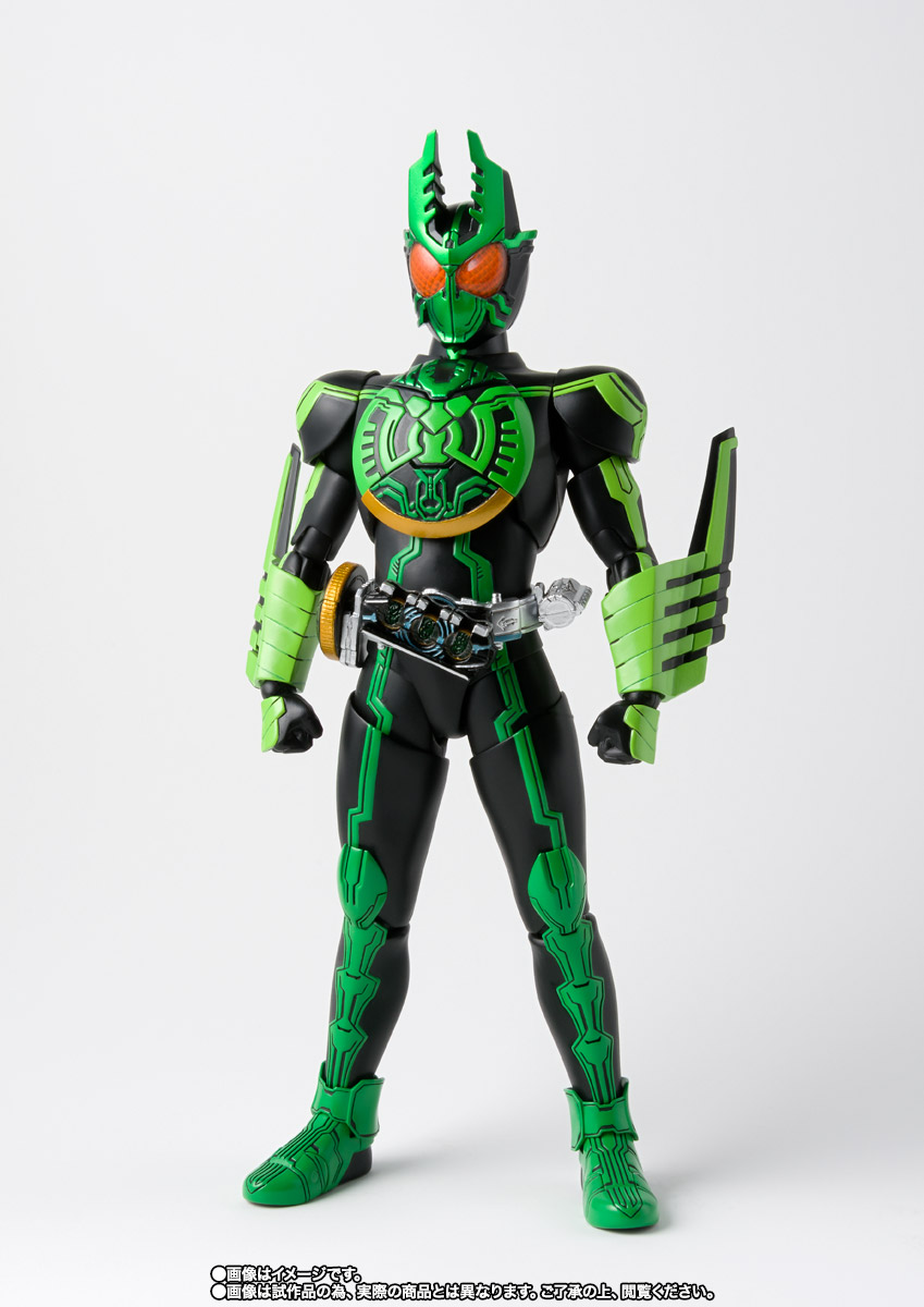 S.H.Figuarts(真骨彫製法) 仮面ライダーオーズ ガタキリバ コンボ 03