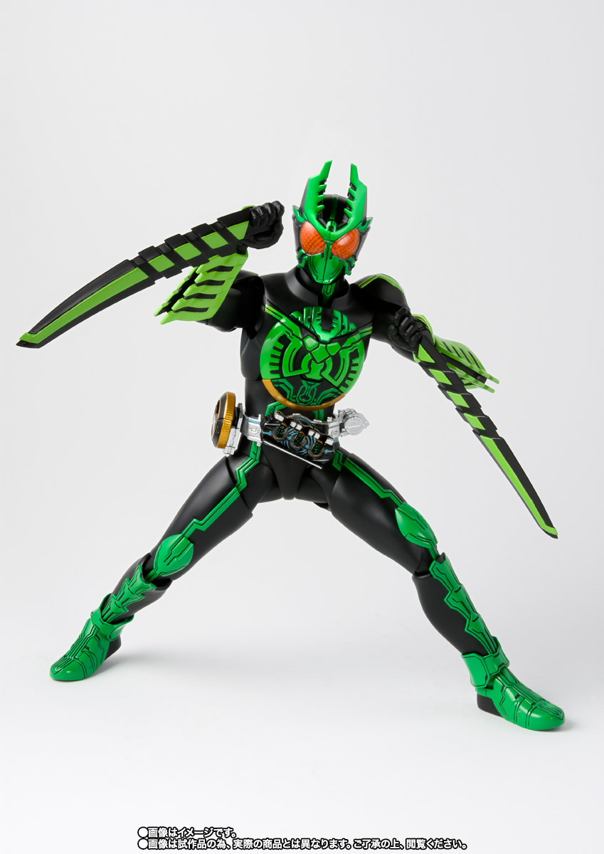 S.H.Figuarts(真骨彫製法) 仮面ライダーオーズ ガタキリバ コンボ 05