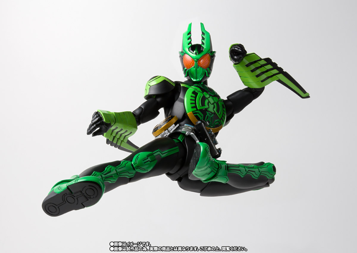 S.H.Figuarts(真骨彫製法) 仮面ライダーオーズ ガタキリバ コンボ 06