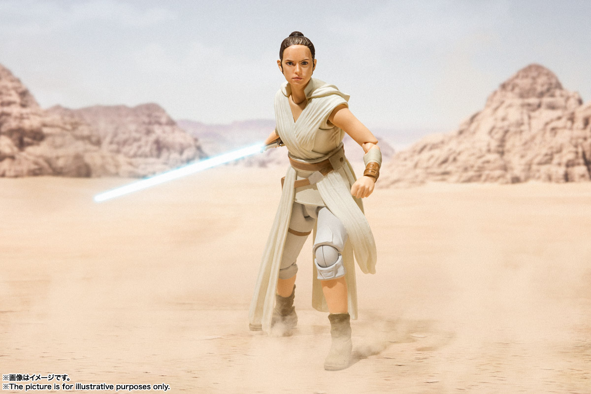 S.H.Figuarts レイ & D-O(STAR WARS: The Rise of Skywalker) 09
