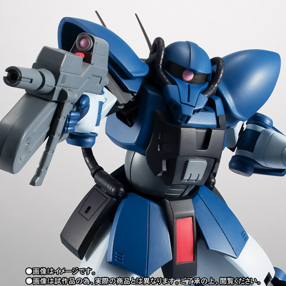 ROBOT魂 <SIDE MS> MS-11 アクト・ザク ver. A.N.I.M.E. 01