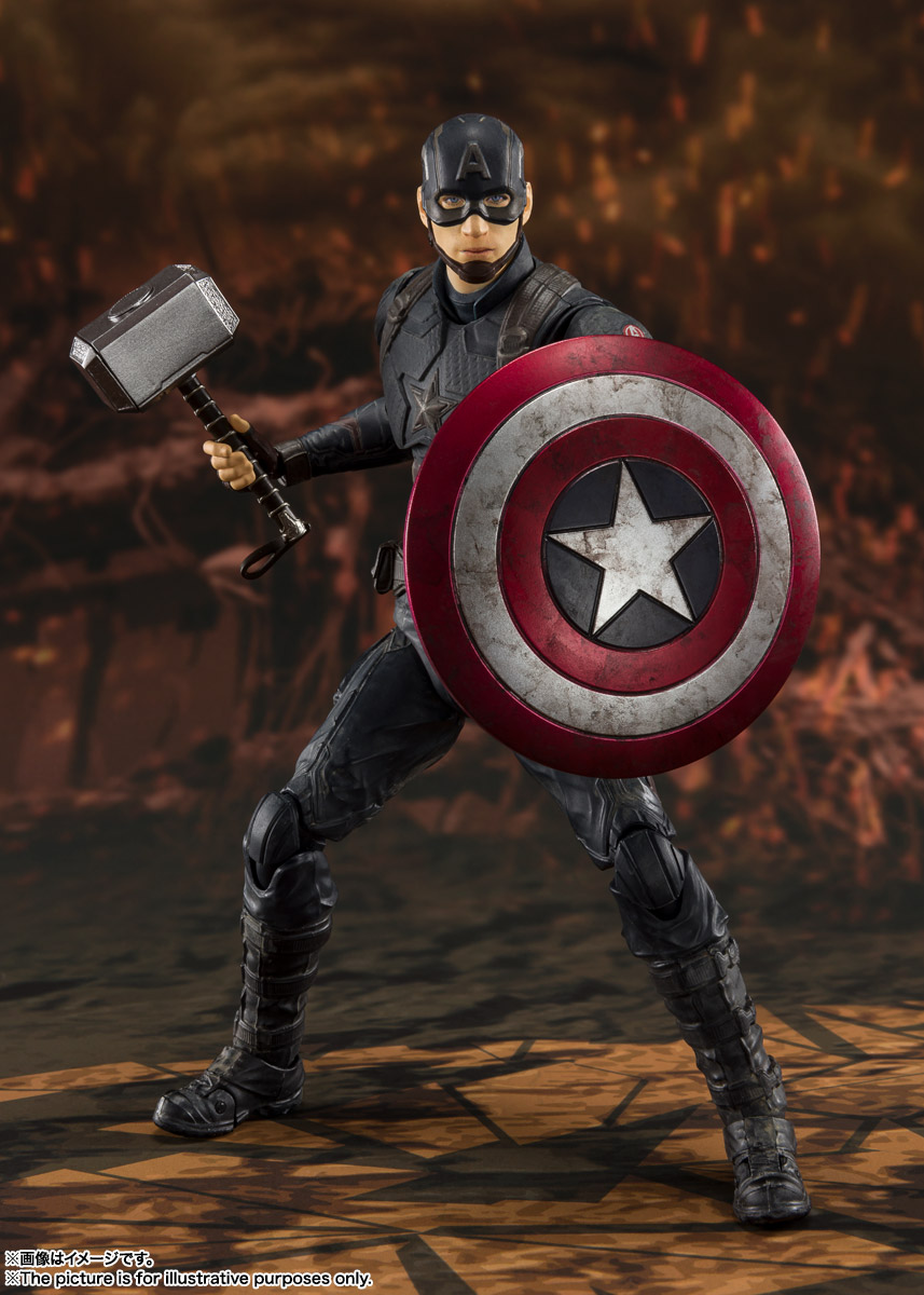 S.H.Figuarts キャプテン・アメリカ -《FINAL BATTLE》EDITION-(アベンジャーズ/エンドゲーム) 02