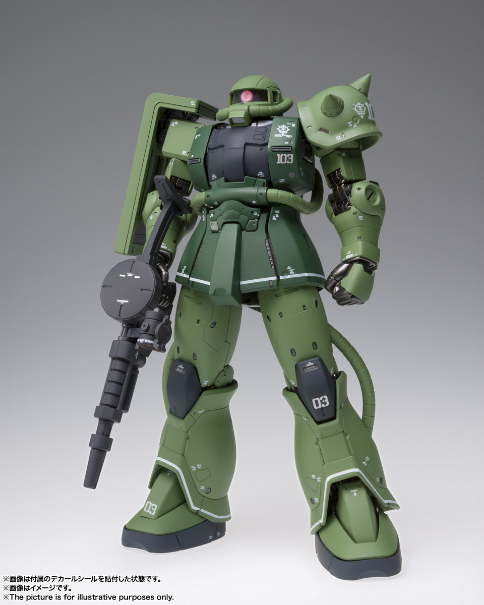 GUNDAM FIX FIGURATION METAL COMPOSITE MS-06C ザクII C型 01