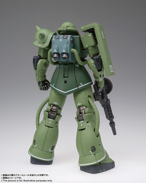 GUNDAM FIX FIGURATION METAL COMPOSITE MS-06C ザクII C型 02
