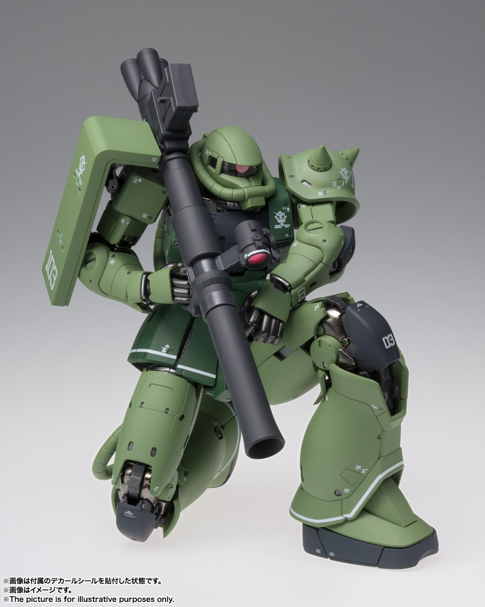 GUNDAM FIX FIGURATION METAL COMPOSITE MS-06C ザクII C型 04