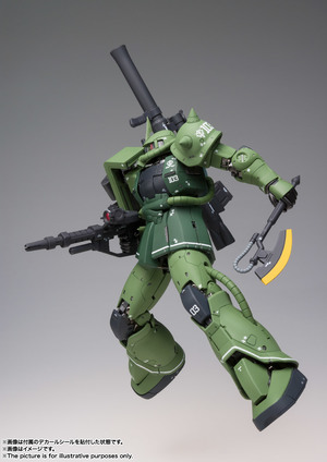 GUNDAM FIX FIGURATION METAL COMPOSITE MS-06C ザクII C型 06
