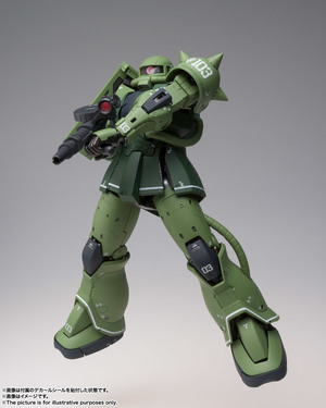 GUNDAM FIX FIGURATION METAL COMPOSITE MS-06C ザクII C型 07