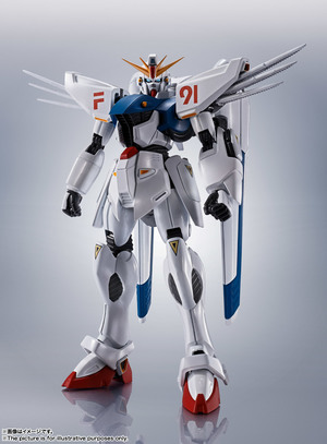ROBOT魂 <SIDE MS> ガンダムF91 EVOLUTION-SPEC 02