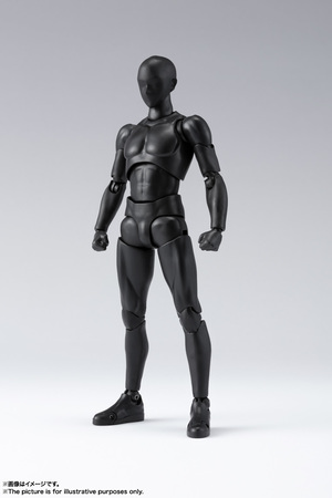 S.H.Figuarts ボディくん DX SET 2( Solid black Color Ver.) 01
