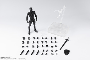 S.H.Figuarts ボディくん DX SET 2( Solid black Color Ver.) 02