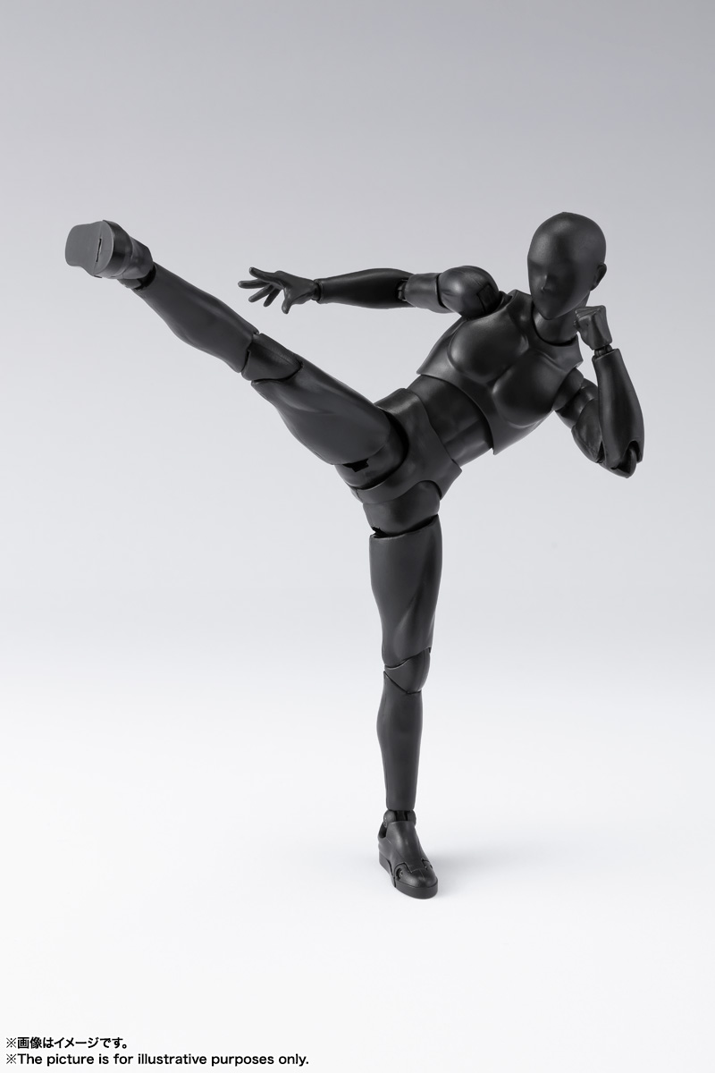 S.H.Figuarts ボディくん DX SET 2( Solid black Color Ver.) 03