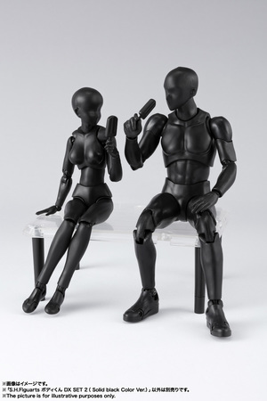 S.H.Figuarts ボディくん DX SET 2( Solid black Color Ver.) 13