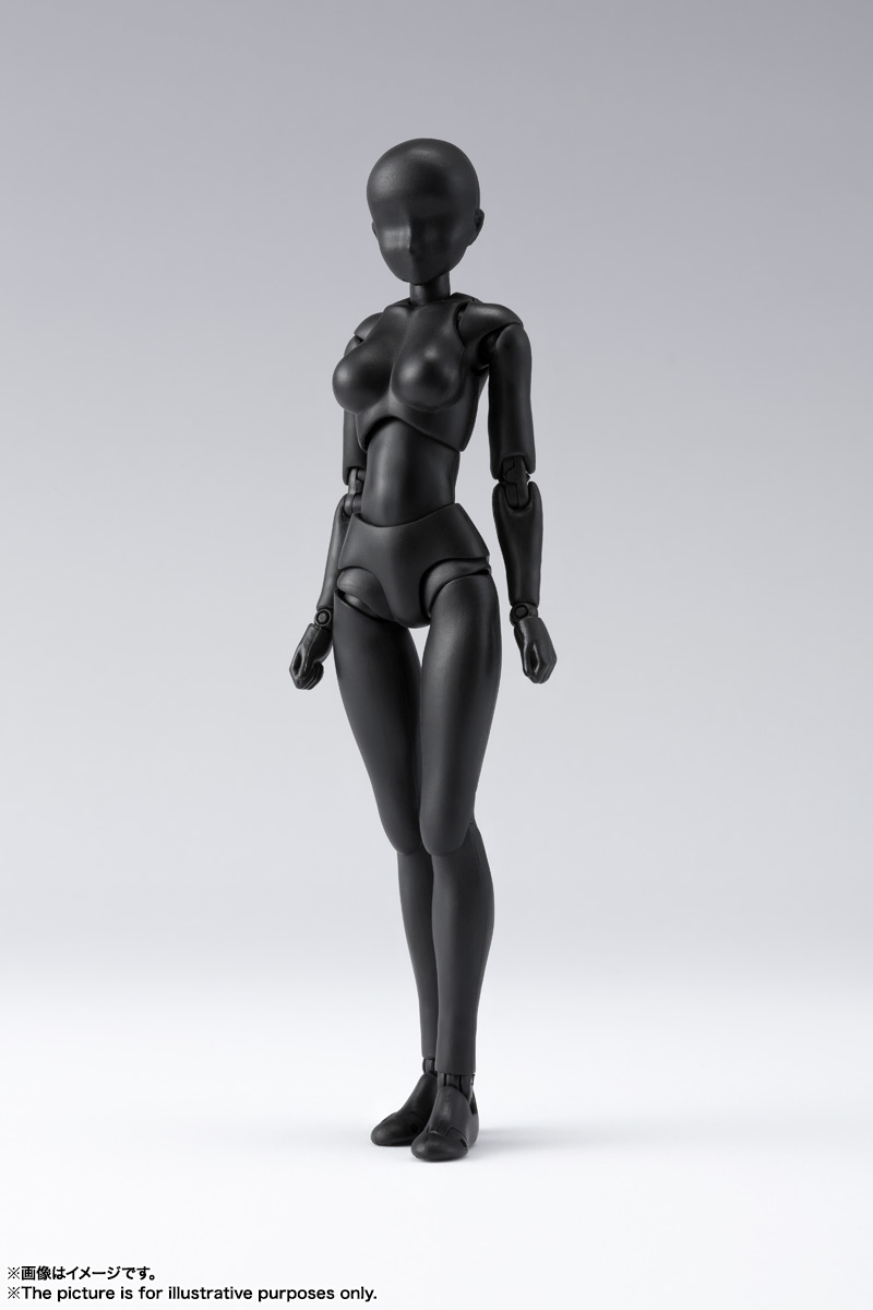S.H.Figuarts ボディちゃん DX SET 2( Solid black Color Ver.) 01