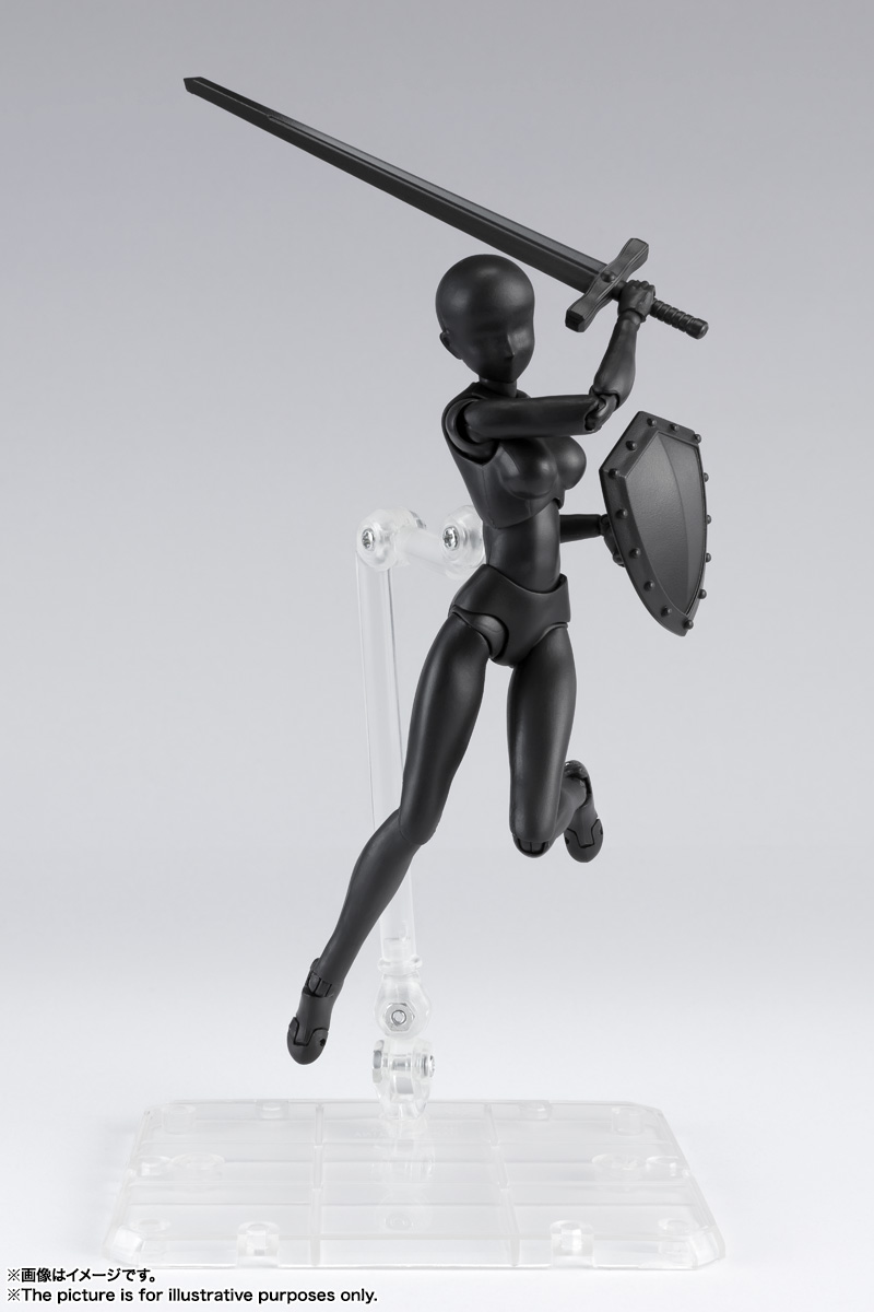 S.H.Figuarts ボディちゃん DX SET 2( Solid black Color Ver.) 05