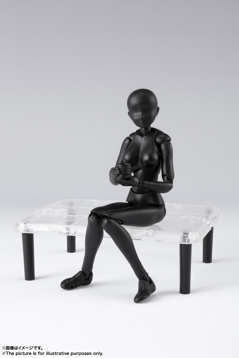 S.H.Figuarts ボディちゃん DX SET 2( Solid black Color Ver.) 10