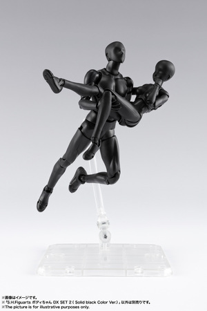 S.H.Figuarts ボディちゃん DX SET 2( Solid black Color Ver.) 11