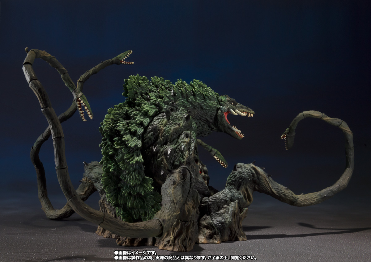 S.H.MonsterArts ビオランテ Special Color Ver. 07