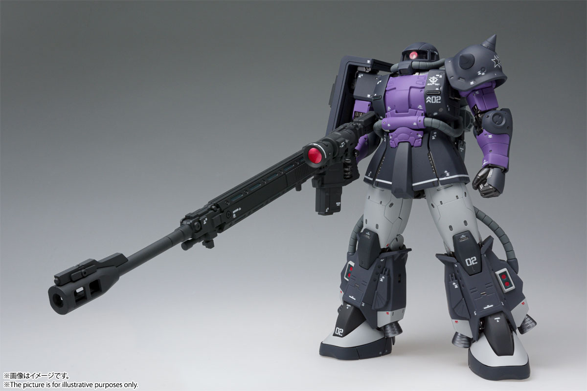 GUNDAM FIX FIGURATION METAL COMPOSITE MS-06R-1A 高機動型ザクⅡ 01