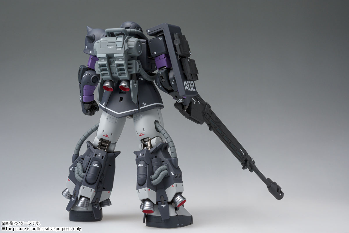 GUNDAM FIX FIGURATION METAL COMPOSITE MS-06R-1A 高機動型ザクⅡ 02