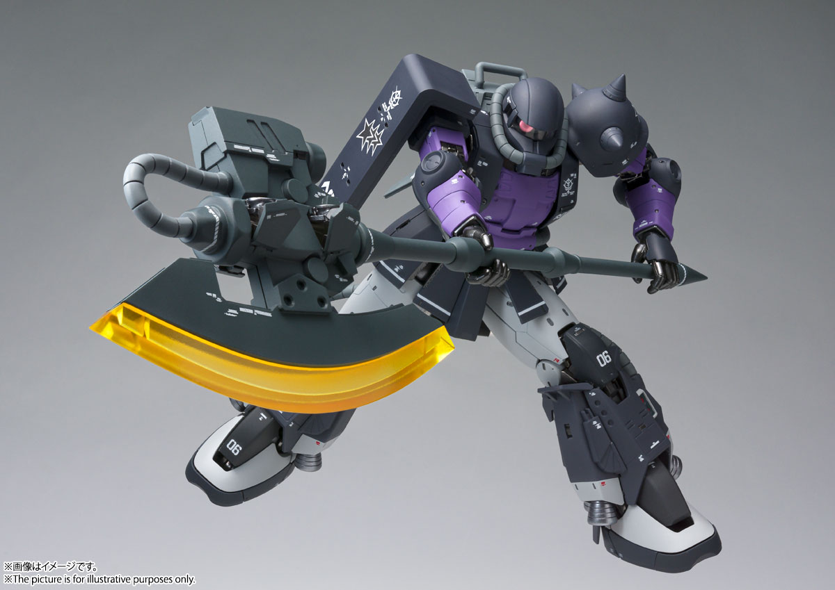 GUNDAM FIX FIGURATION METAL COMPOSITE MS-06R-1A 高機動型ザクⅡ 05