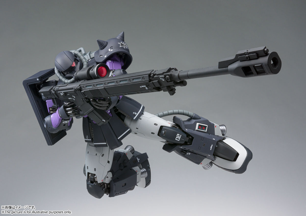 GUNDAM FIX FIGURATION METAL COMPOSITE MS-06R-1A 高機動型ザクⅡ 06